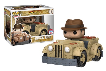 2016 Funko New York Comic Con Exclusives Pop Rides #19 Indy's Ride