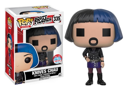 2016 Funko New York Comic Con Exclusives Pop Scott Pilgrim #335 Knives Chau Digital