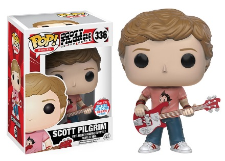 2016 Funko New York Comic Con Exclusives Pop Scott Pilgrim Pop Scott Pilgrim #336 Scott Astro Boy