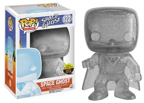 2016 Funko New York Comic Con Exclusives Pop Space Ghost #122 Invisible Space Ghost Toy Tokyo