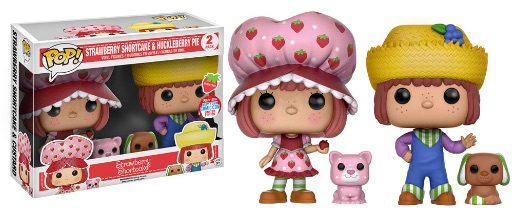 2016 Funko New York Comic Con Exclusives Pop Strawberry Shortcake 2-Pack Strawberry Shortcake and Huckleberry Pie