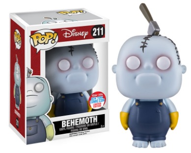 2016 Funko New York Comic Con Exclusives Pop The Nightmare Before Christmas #211 Behemoth