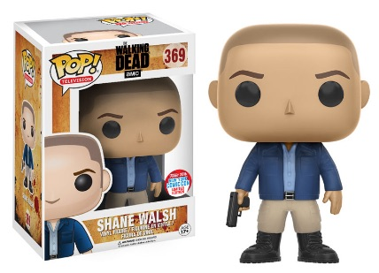 2016 Funko New York Comic Con Exclusives Pop The Walking Dead #369 Shane Walsh