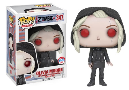 2016 Funko New York Comic Con Exclusives Pop iZombie #347 Olivia Moore Zombie (Hooded)