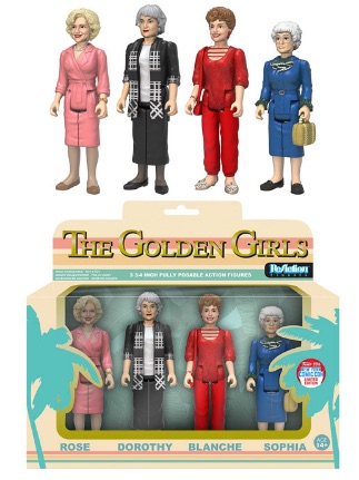 2016 Funko New York Comic Con Exclusives ReAction The Golden Girls 4-Pack