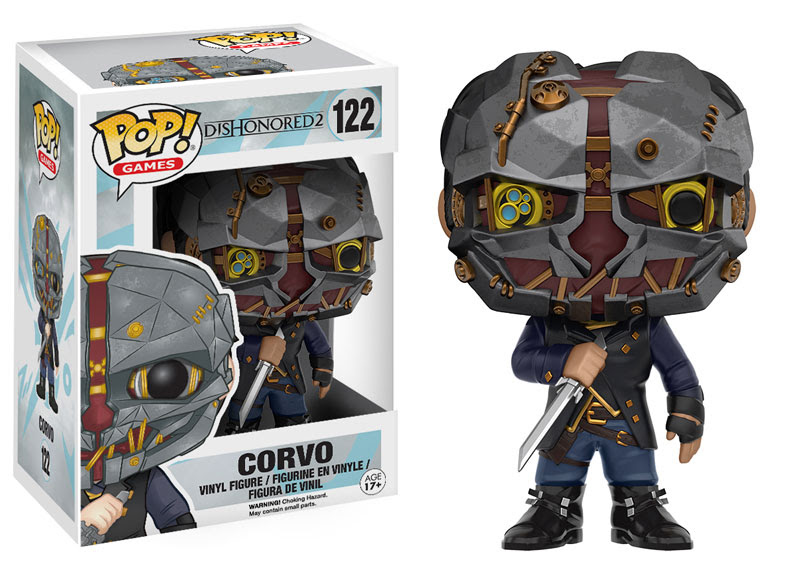 2016 Funko Pop Dishonored 2 122 Corvo