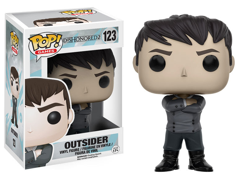 2016 Funko Pop Dishonored 2 123 Outsider
