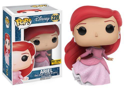 2016 Funko Pop Disney 220 Ariel Sparkly Hot Topic