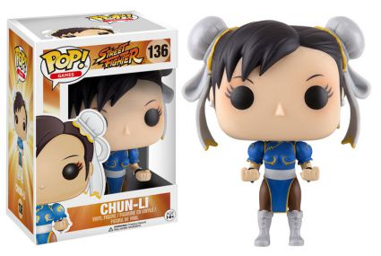 2016 Funko Pop Street Fighter 136 Chun-Li