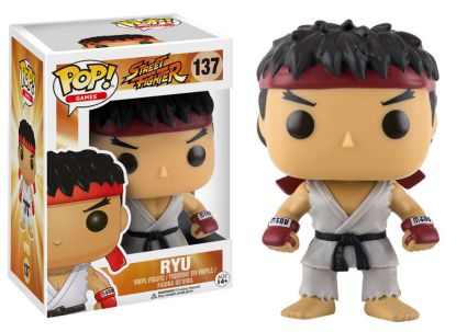 2016 Funko Pop Street Fighter 137 Ryu