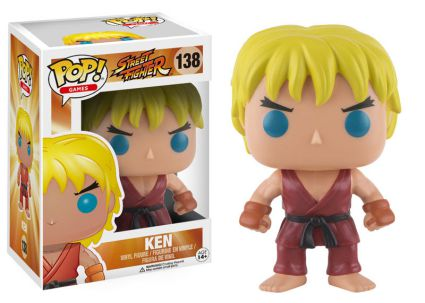 2016 Funko Pop Street Fighter 138 Ken
