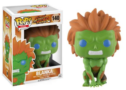 2016 Funko Pop Street Fighter 140 Blanka