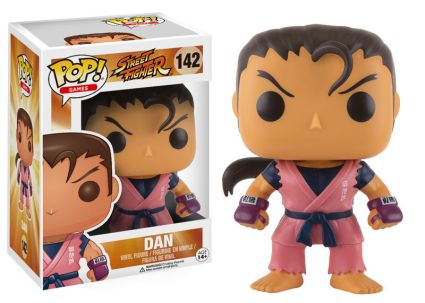 2016 Funko Pop Street Fighter 142 Dan