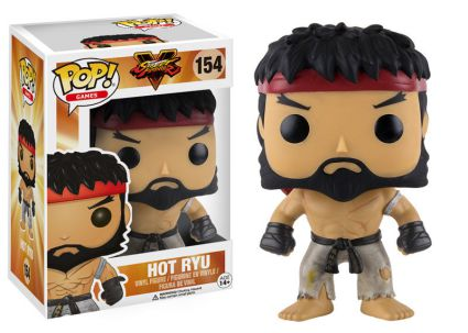 2016 Funko Pop Street Fighter Hot Ryu