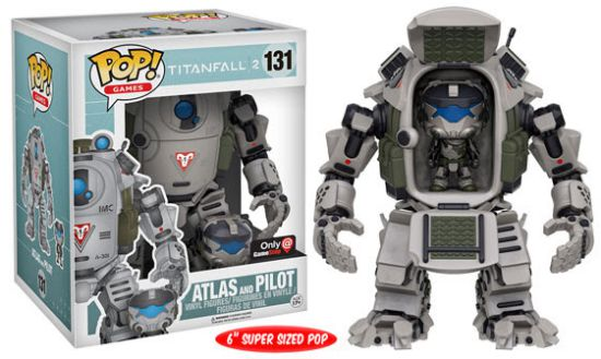 2016 Funko Pop Titanfall 2 131 Atlas and Pilot GameStop