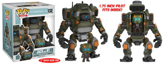 2016 Funko Pop Titanfall 2 132 Jack and BT