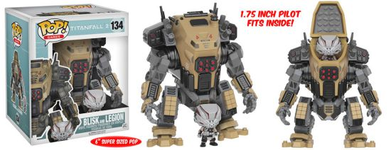2016 Funko Pop Titanfall 2 134 Blisk and Legion