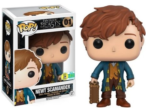 2016 Funko San Diego Comic-Con Exclusives Pop Fantastic Beasts #01 Newt Scamander (First to Market)