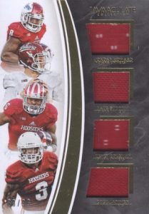 2016 Panini Immaculate Collegiate Football Quads