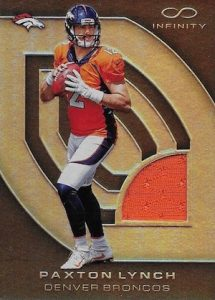 2016 Panini Infinity Football RPS Rookie Materials Paxton Lynch