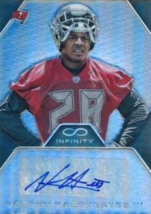 2016 Panini Infinity Football Rookie Autographs