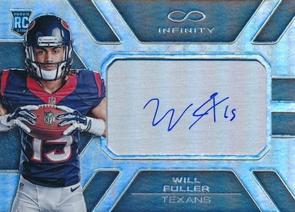 2016 Panini Infinity Football Rookie Autographs Chrome Fuller
