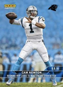 2016 Panini Instant NFL Football Cards 21