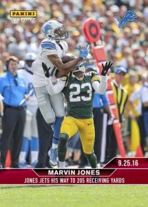 2016 Panini Instant NFL Football 54 Marvin Jones