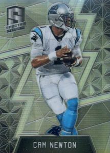 2016 Panini Spectra Football Base Cam Newton