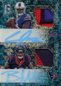 2016 Panini Spectra Football Rookie Dual Patch Autographs