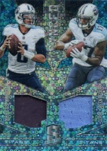 2016 Panini Spectra Football Synced Swatches