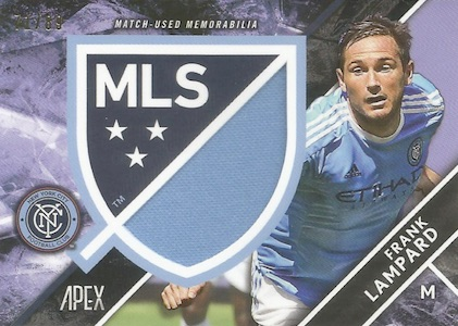 2016 Topps Apex MLS Major League Soccer Cards 24