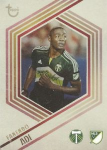2016 Topps Apex MLS Major League Soccer Cards 27