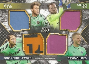 2016 Topps Apex MLS Major League Soccer Cards 26
