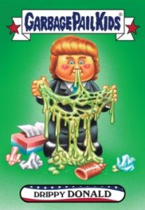 2016-17 Topps Garbage Pail Kids Disg-Race to the White House - Updated 25