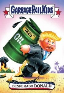 2016-17 Topps Garbage Pail Kids Disg-Race to the White House - Updated 26