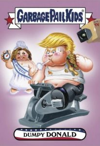 2016-17 Topps Garbage Pail Kids Disg-Race to the White House - Updated 32