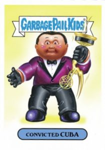 2016 Topps Garbage Pail Kids Prime Slime Awards Cuba Gooding Jr