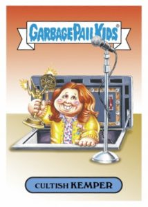 2016 Topps Garbage Pail Kids Prime Slime Awards Emmys Cards 27