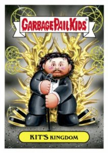 2016 Topps Garbage Pail Kids Prime Slime Awards Kit Harrington