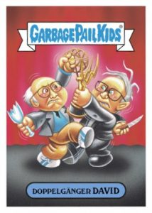 2016 Topps Garbage Pail Kids Prime Slime Awards Larry David