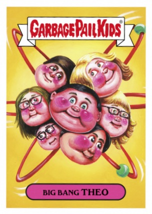 2016 Topps Garbage Pail Kids Prime Slime TV Preview Stickers 2