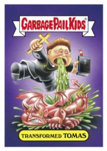2016 Topps Garbage Pail Kids Prime Slime TV Preview Stickers 15