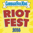 2016 Topps Garbage Pail Kids Riot Fest Trading Cards