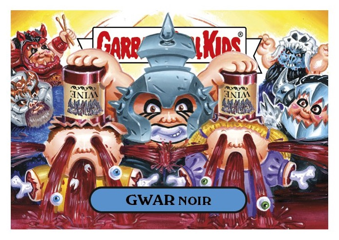 2016 Topps Garbage Pail Kids Riot Fest Trading Cards 27