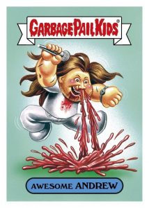 2016 Topps Garbage Pail Kids Riot Fest Trading Cards 28