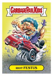 2016 Topps Garbage Pail Kids Riot Fest Trading Cards 24