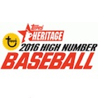 2016 Topps Heritage High Number Baseball Cards