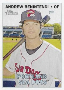 2016 Topps Heritage Minor League Baseball Base Andrew Benintendi