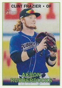 2016 Topps Heritage Minor League Baseball Base Clint Frazier